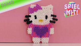 Bügelperlen vorlagen Hello Kitty Anleitung