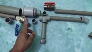 Como Fazer Arma De Pressão Com Tubos PVC - Diy