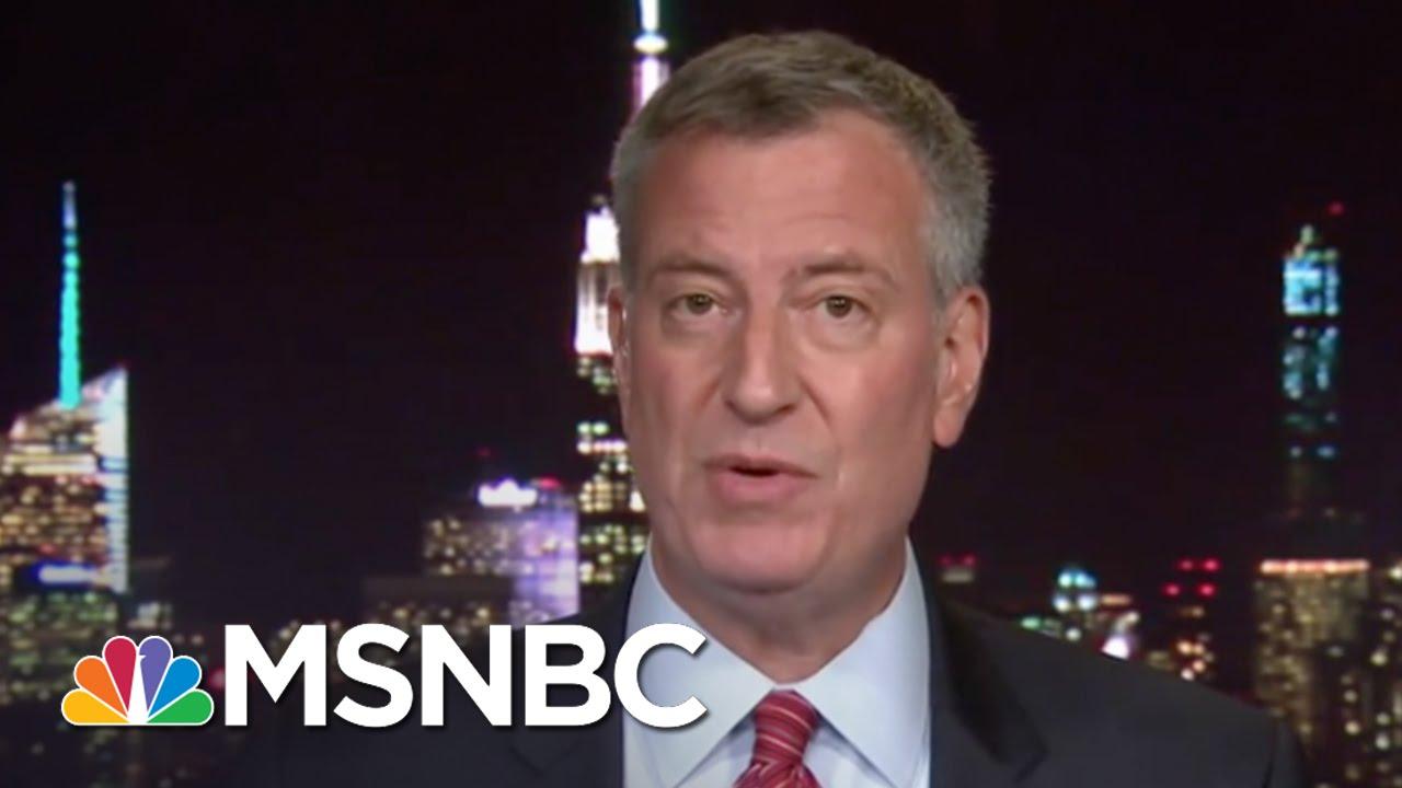 Bill De Blasio: NYC Won't De Intimidated | Hardball | MSNBC thumbnail