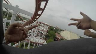 Sky Coaster ( Dreamworld Thailand ) 4k