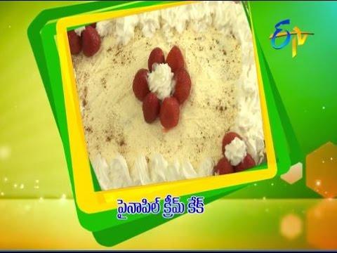 Pineapple-Cream-Cake--ఫైనాపిల్-క్రీమ్-కేక్