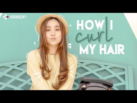 How I Curl My Hair ft. Agatha Chelsea | SEASON BEAUTY |