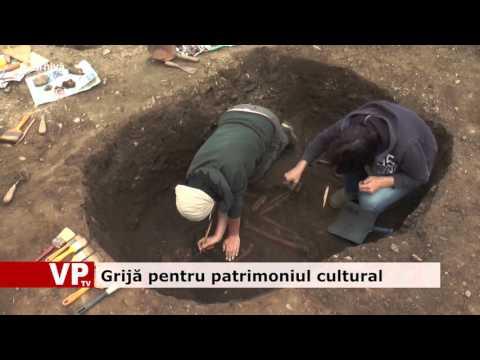 Grijă pentru patrimoniul cultural