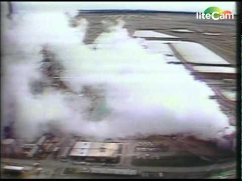 MTV3:n ilmastokusetusuutinen n. 40 vuotta sitten