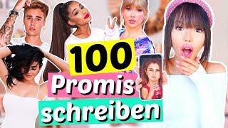 Wir bekommen Antworten!!  100 PROMIS auf Instagram anschreiben    ViktoriaSarina