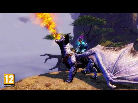 Guild Wars 2 Skyscale Mount Revealed