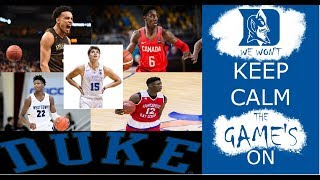 Duke Basketball 2019 Freshman Class Official Mixtape - Cam, Zion, RJ, Tre & Joey!