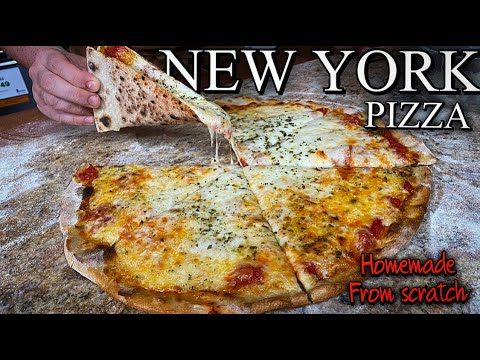 Making New York-Style Pizza at Home like a Pro