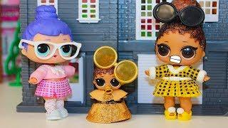 Куклы ЛОЛ #ШКОЛА Получила Двойку! Мультик про Куклы ЛОЛ сюрприз Игрушки #LOL Surprise Decoder