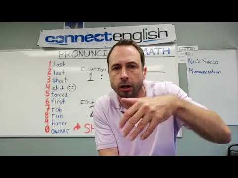 Connect English Pronunciation Math, Volume 5 - La Jolla Campus
