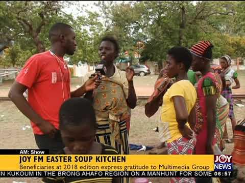 Joy FM Easter Soup Kitchen - AM Show on JoyNews (2-4-18)
