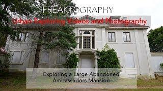 Urban Exploration: Abandoned Millionaires Mansion in Ottawa Ontario