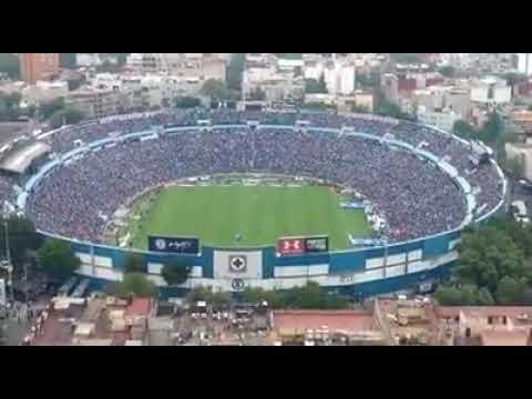 """""""Último """"Yo soy Celeste"""" en el Estadio Azul"""" Barra: La Sangre Azul • Club: Cruz Azul"""