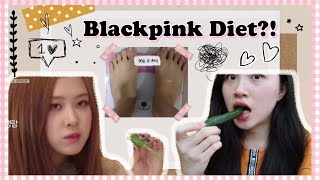 BLACKPINK DIET?! | I Tried Eating Like Blackpink And Actually Lose Weight! (ENGLISH W/ INDO SUB)