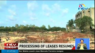 Government lifts suspension on renewal of land leases - VIDEO