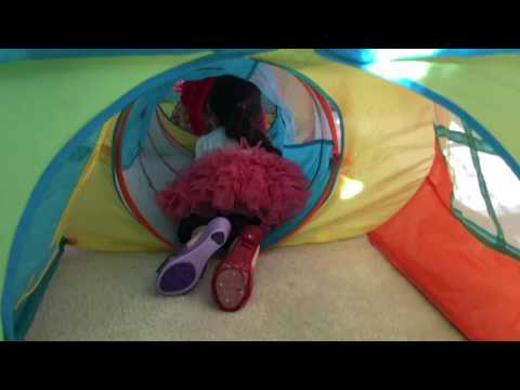 TENT and TUNNEL TOYS for to PLAY (CARPA PARA NIÑOS CON TÚNEL PARA JUGAR)