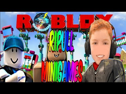 MAJESTIC MULTIPLAYER MINIGAME MADNESS - Electroshark plays Roblox Ripull Minigames