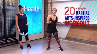 This Martial Arts Workout Will Strengthen and Tone Your Entire Body by Health Magazine
