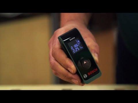 Tutorial: Der neue digitale Laser-Entfernungsmesser Zamo von Bosch