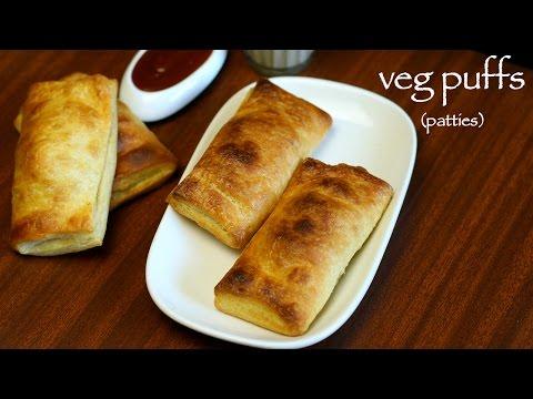 veg puff recipe