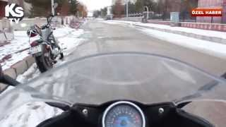 preview picture of video 'Erzurum'da Motosiklet Kültürü - Özel Haber'