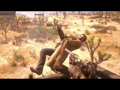 Red Dead Redemption 2 - First Person Brutal Gameplay Vol.26 (Euphoria Ragdolls)