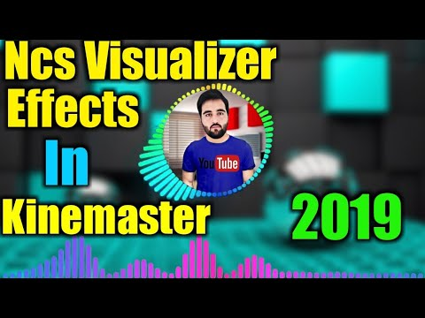 Kinemaster Tutorial Audio Spectrum Visualizer with chromakey