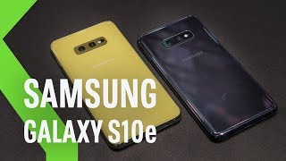 Samsung Galaxy S10e: La verdadera novedad de los Galaxy S10