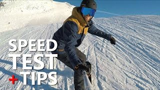 #5 Snowboard intermediate – Snowboarding speed test & tips