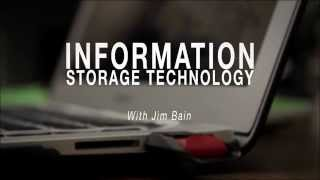 Prof. James A. Bain: Information Storage Technology