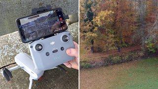 DJI Mini 2 - Erster Flug, Setup der Drohne & Test Footage in 4K 30 FPS // DEUTSCH
