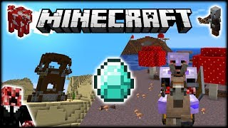 I Found LOTS Of EPIC MINECRAFT Structures & LOOT! | Let's Play Minecraft Survival | Episode 10