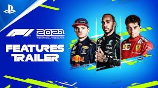 PlayStation F1 2021 - Features Trailer   PS5, PS4 anuncio