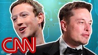 Elon and Zuckerberg's clash over artificial intelligence
