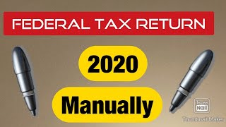 Easy way to estimate your tax return, Manually calculate your refund