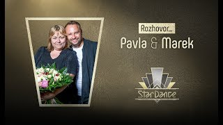 Rozhovor: Pavla Tomicová a Marek Dědík #StarDance9