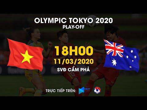 TRỰC TIẾP | Việt Nam - Australia | Play-off bóng đá nữ Olympic Tokyo 2020 | VFF Channel
