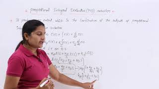 Proportional Integral Derivative PID Controller