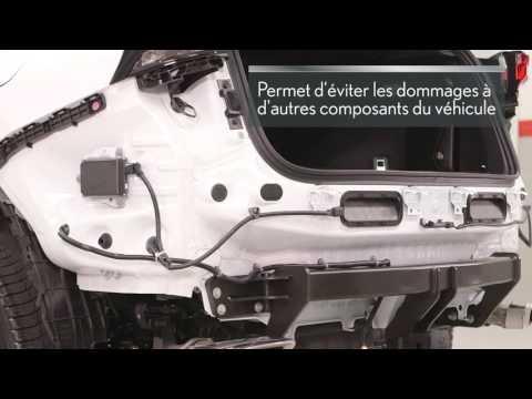 Attelage de remorquage d'origine Lexus
