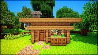 СТАРТОВЫЙ ДОМ ЗА 5 МИНУТ В Майнкрафт ПЕ Как построить Дом Выживание и Видео Minecraft Pocket Edition
