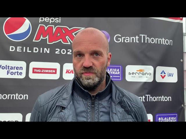 Arnar Gunnlaugs: Vorum full gestrisnir
