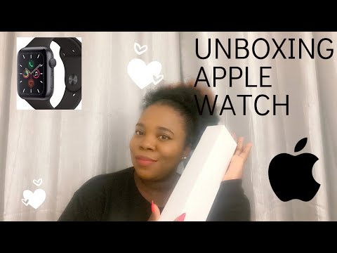 Apple Watch series 5 | Unboxing | Jessica Osa's