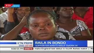 Raila Odinga promises to take oath after New year celebrations