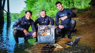Police Couldn't Believe What Yappy Found Scuba Diving! (Locked Safe)