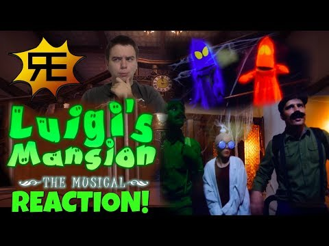 Reacting to Luigi's Mansion the Musical {By Random Encounters} - ZakPak