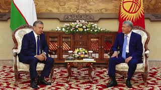 Президент КР встретился с Президентом Узбекистана