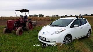 Электромобиль Nissan Leaf опыт эксплуатации, отзыв владельца.