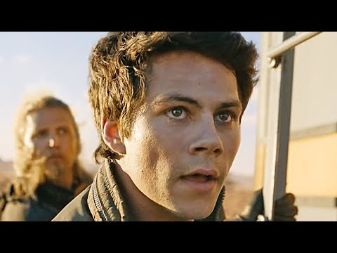 Maze Runner 3: The Death Cure - Train Chase & Lego Trailer (2018)