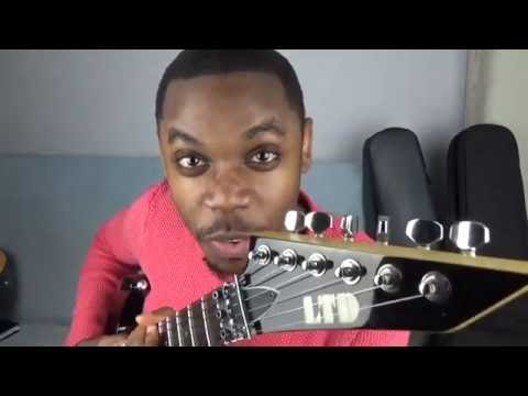 How to play congolese guitar seben rythmic #1