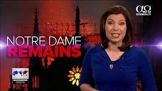 Catedrala Notre-Dame Din Paris în Flăcări